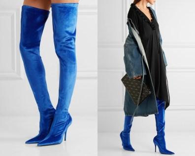 Najlepši škornji čez kolena za jesen in zimo 2017: Balenciaga