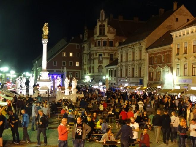 Glavni trg v Mariboru bo ponovno gostil Makro Beer Fest.
