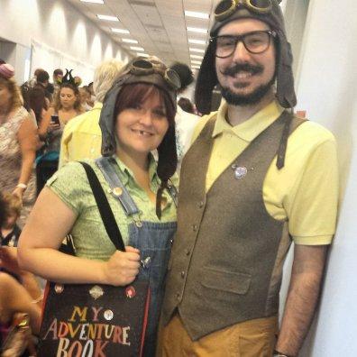 Carl in Ellie iz risanke Up