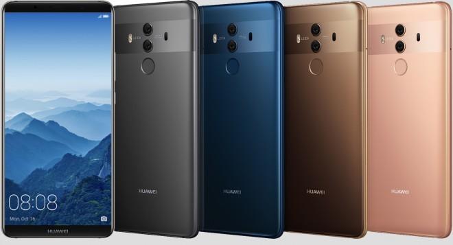 Družina Huawei je bogatejša za pametna telefona Huawei Mate 10 in Mate 10 Pro.