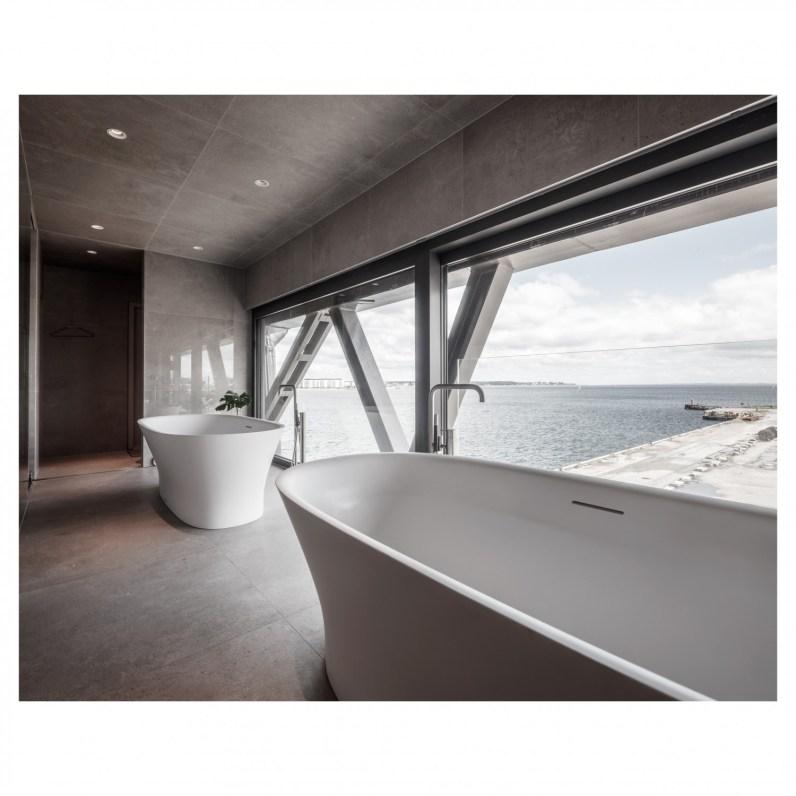 Hotel The Krane – luksuzna noč na gradbišču