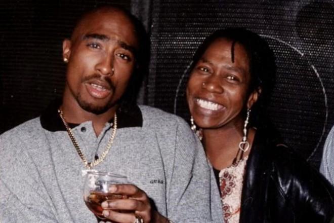 Tupac z mamo