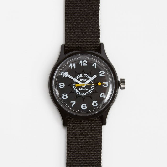 1. TIMEX x It's Nice That 'Nice Time Guaranteed' MK1 Watch