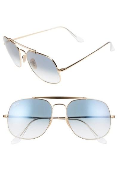 Moška modna sončna očala 2018: kovinski okvirji sončnih očal, Ray Ban