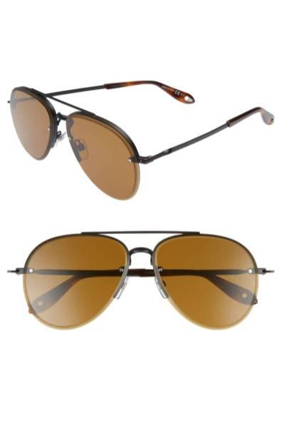 Moška modna sončna očala 2018: kovinski okvirji sončnih očal, Givenchy