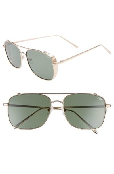 Moška modna sončna očala 2018: kovinski okvirji sončnih očal, Quay Australia