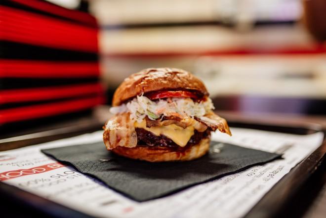 Billy Bob Bacon burger