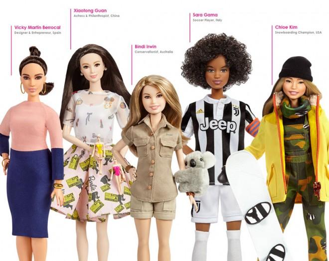Nove barbike so ženske, ki so vas ali pa vas bodo navdihnile.