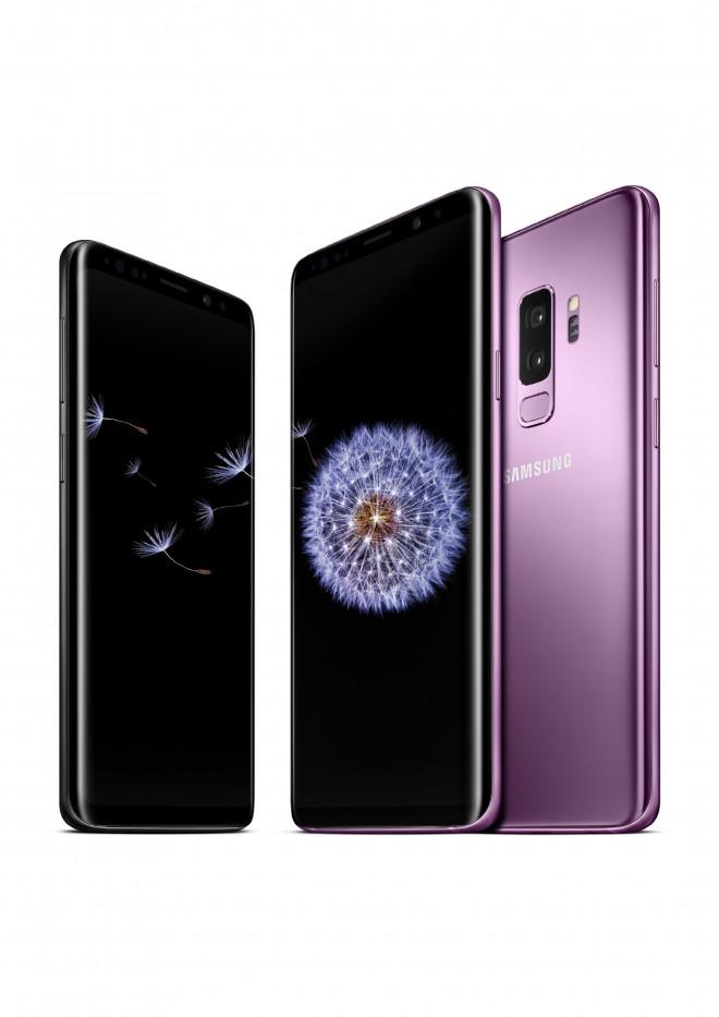 Ujemite trenutke s Samsung Galaxy S9 in S9+ v čudovitem vijoličnem odtenku