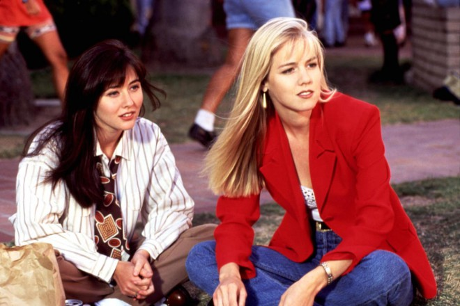 Jennie Garth in Shannen Doherty