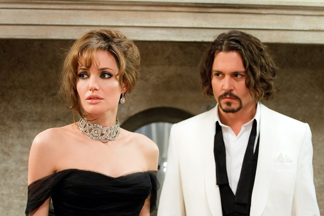 Angelina Jolie in Johnny Depp