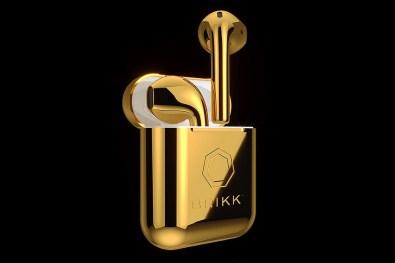 Brikk: zlate Applove brezžične slušalke