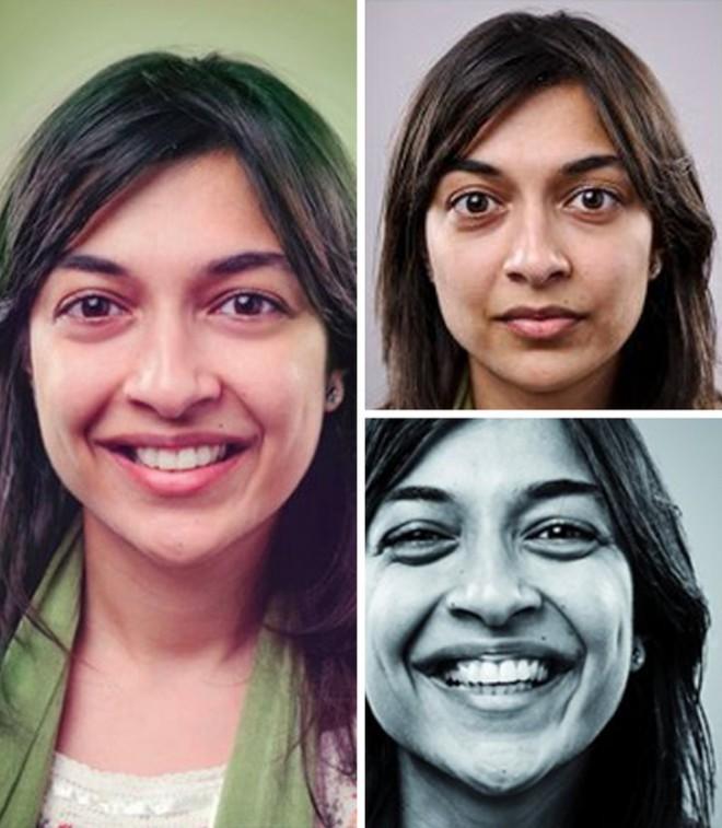 Pred šestimi leti je Shubnum prvič videla svojo fotografijo v lokalnem kanadskem časopisu.