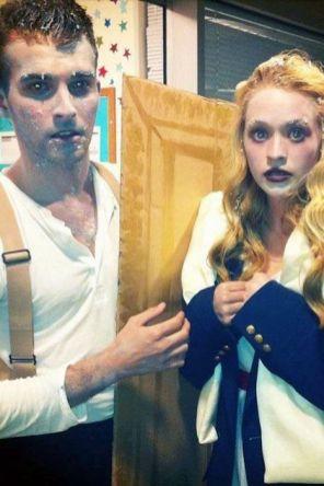 Jack in Rose iz Titanika.