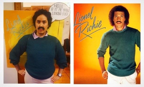 Lionel Richie in njegova naslovnica albuma.