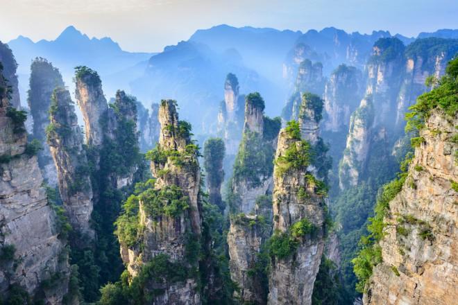 Nacionalni gozdni park Hangjiajie