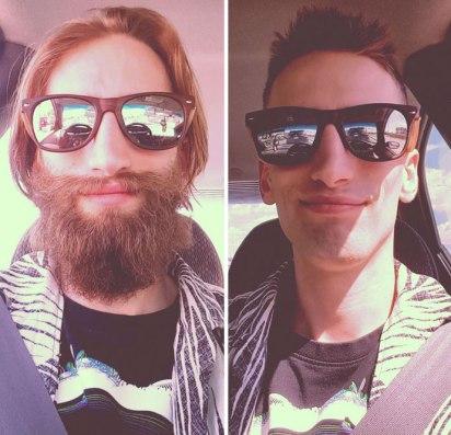 Pred in po britju