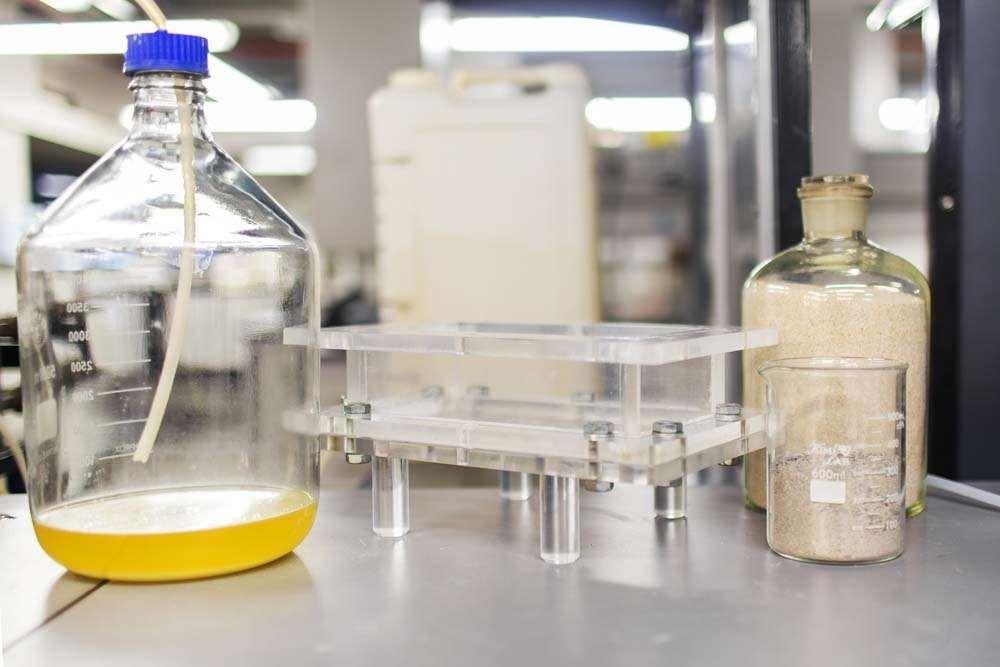 Bio-opeko je mogoče proizvesti pri sobni temperaturi.