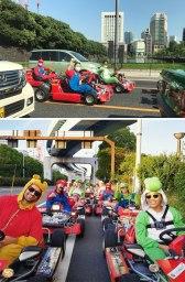 Dirka z avtomobili Super Mario