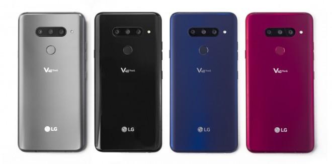 LG V40 ThinQ ima kar pet kamer.