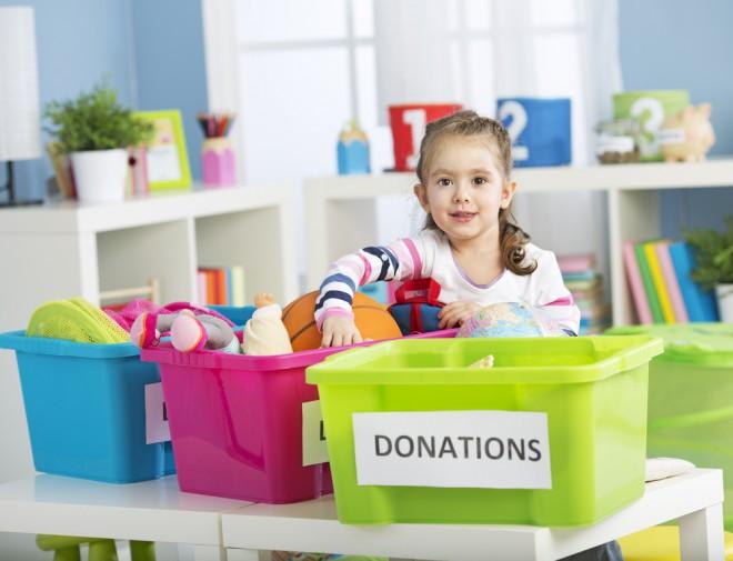 Če igrač otrok ne uporablja, jih donirajte