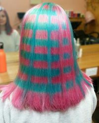 'Plaid Hair'
