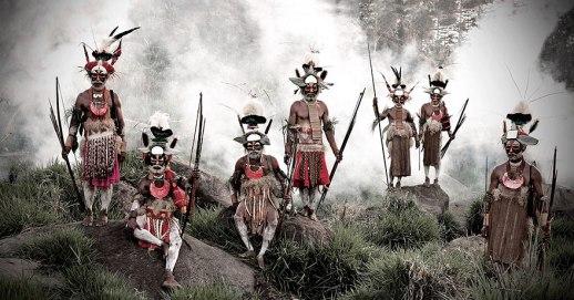 Pleme Likekaipia, gore Jalibu, Papuanska Nova Gvineja