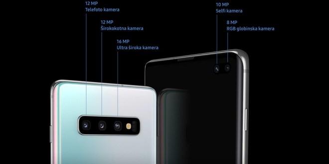 Samsung Galaxy S10+ / napreden sistem kamer z najvišjo oceno DxOMark.