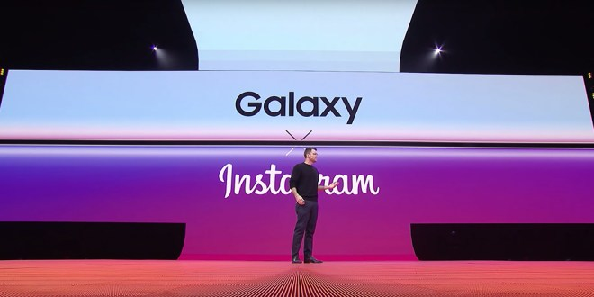 Samsung Galaxy S10+ / Integrirana izboljšana funkcionalnost za Instagram
