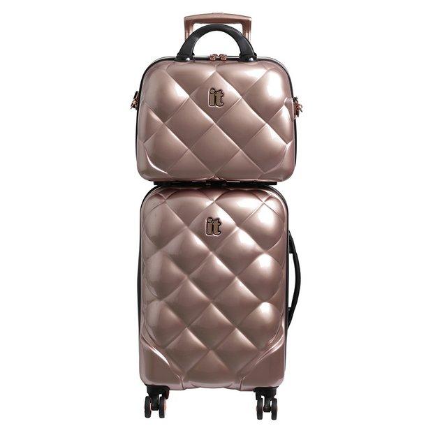IT Luggage 8 Wheel Vanity And Cabin Luggage Set