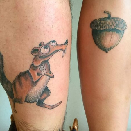 Prisrčne tetovaže za dva