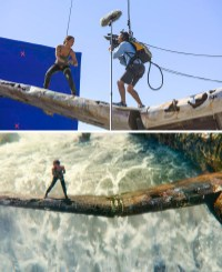 Snemanje scene v Tomb Raider