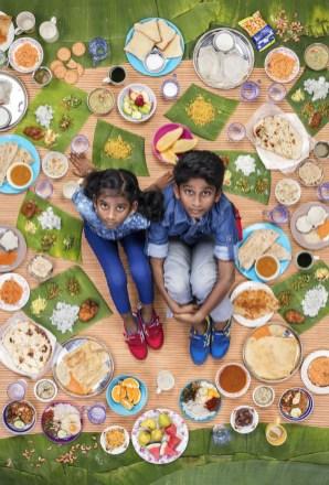 Tharkish Sri Ganesh in Mierra Sri Varrsha prihajata iz Malezije in sta stara 10 in 9 let. Večinoma jima obroke pripravi njuna mama, čez teden pa pogosto jesta tudi pico ali KFC.