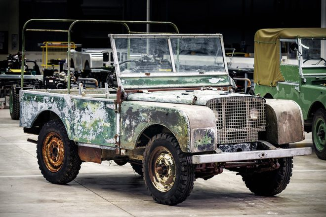 Land Rover Series 1 Prototype