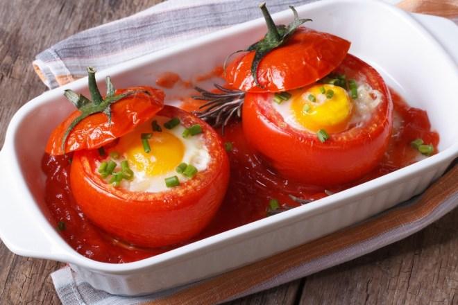 Jajca v paradižniku