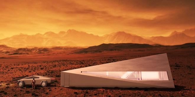 Cybunker na Marsu