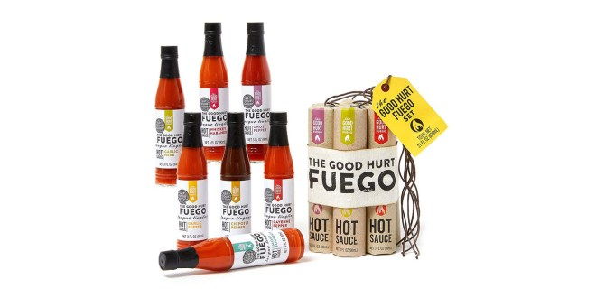 Set pekočih omak Fuego