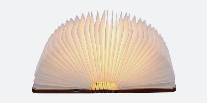 Svetilka v obliki knjige Tomshine