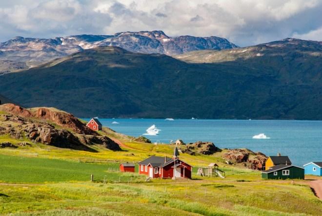 Narsarsuaq na Grenlandiji