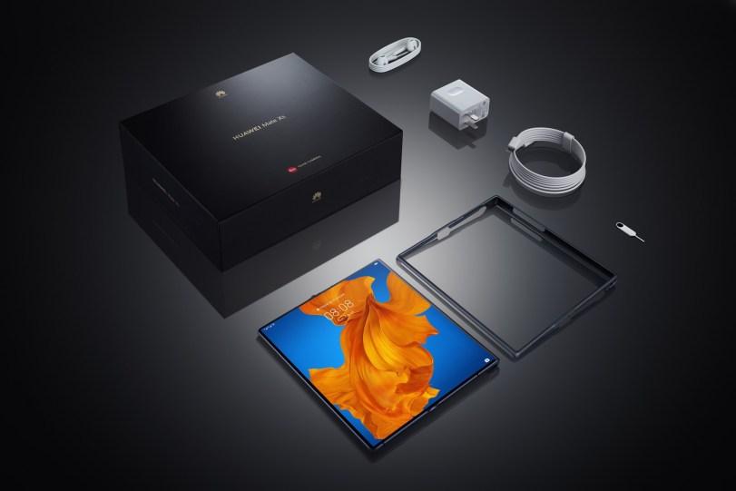 Pakiranje za zložljivi pametni telefon Huawei Mate Xs