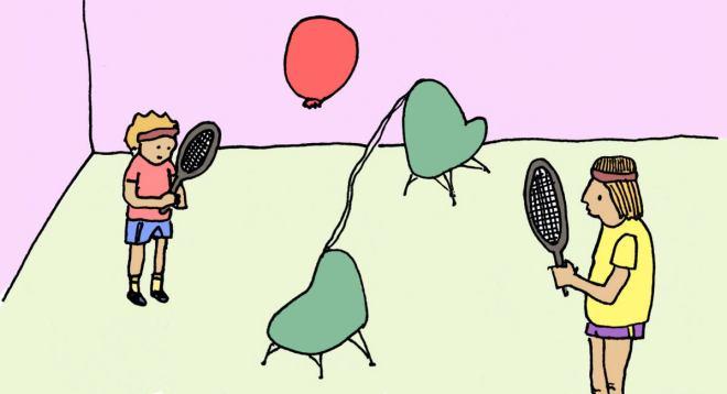 Tenis z baloni