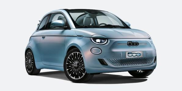 Električni avto Fiat 500e