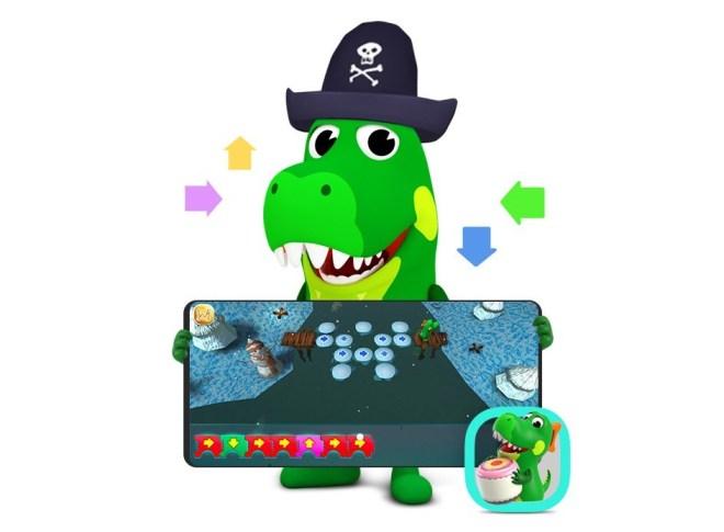 Igrajte se s krokodilčkom Crocroojem.