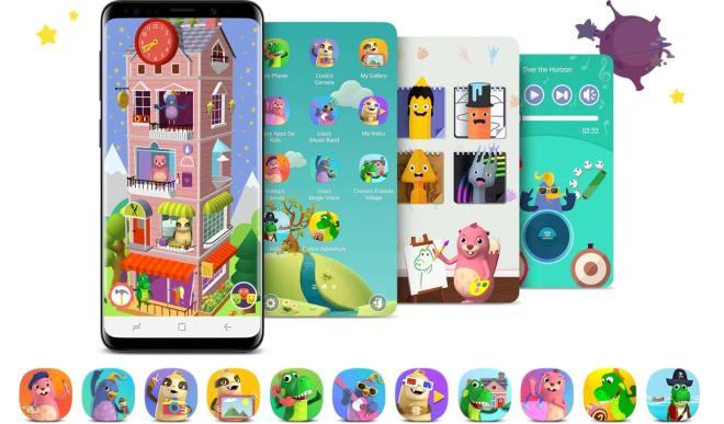 Neskončne možnosti zabave in učenja z aplikacijo Samsung Kids