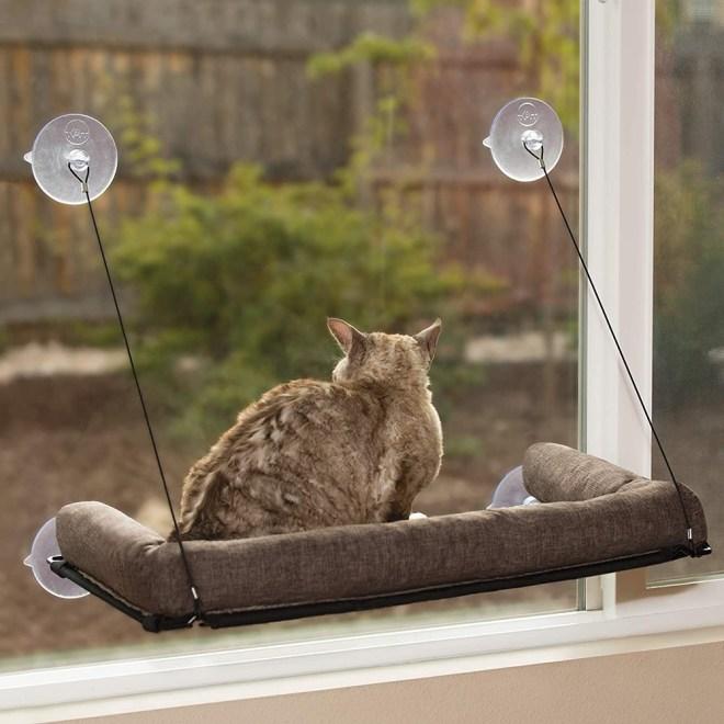 Mačja postelja za na okno