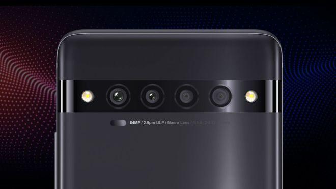 Sistem kamer na TCL 10 Pro