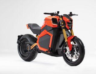 Električni motocikel Verge TS