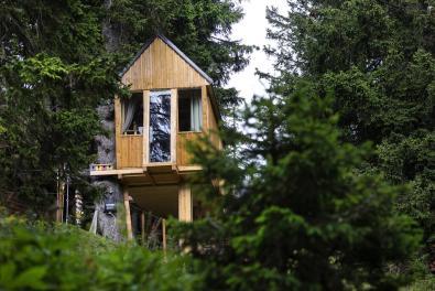 Chalet Alpinka - Hiška na drevesu (Foto: Booking.com)