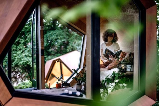 "Hello Wood, ""Workstation Cabin"" (Foto: Zsuzsa Darab)"