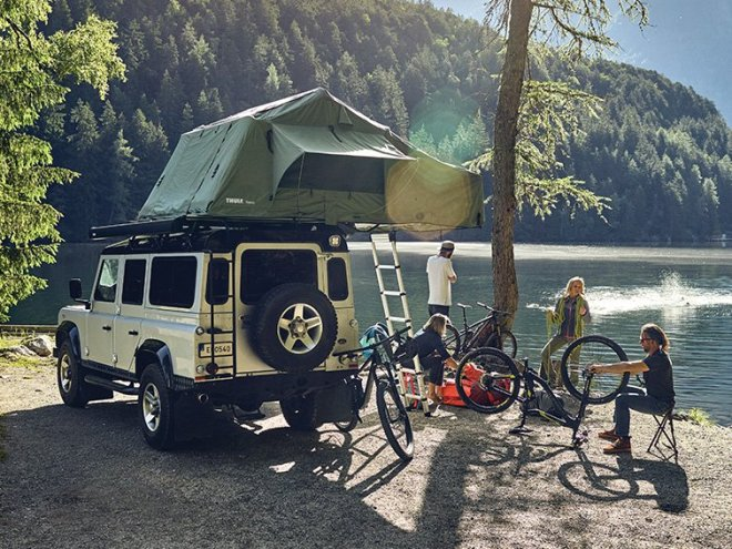 Thule Tepui - strešni avtomobilski šotori - Overland šotori
